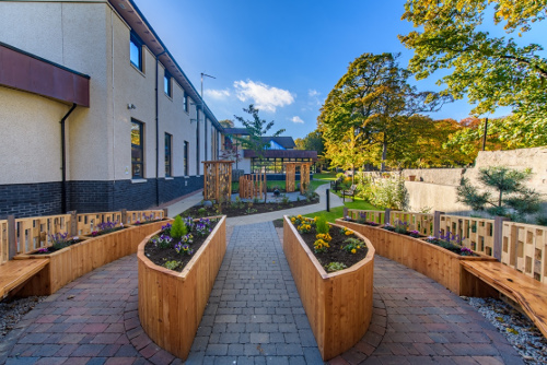 CLAN Centre sensory garden PAPILLON