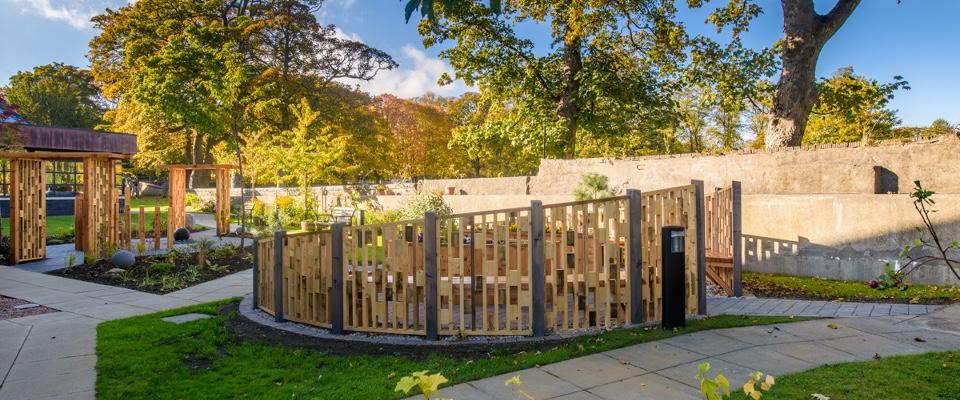 Sensory garden at CLAN, Aberdeen
