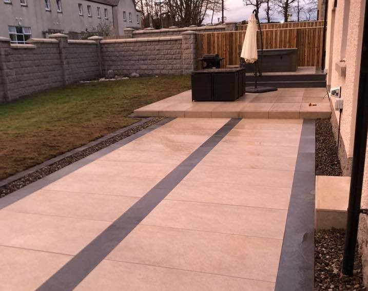 Milltimber garden project offers homeowners a low maintenance, modern space to relax