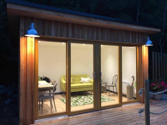 Summer house in Ballater garden | Papillon Designs & Landscaping